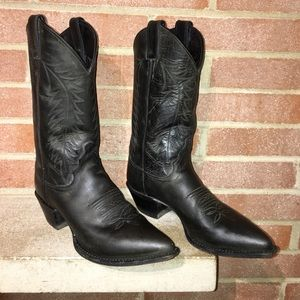Justin Boots western boots woman's size 8.5 Black
